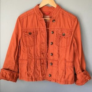 Vintage Orange Esprit Denim Jacket